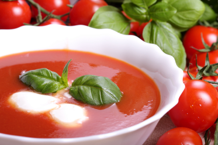 Sizilianische Tomatensuppe